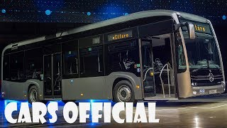 World Premiere: All electric Mercedes Benz eCitaro City Bus (2018)