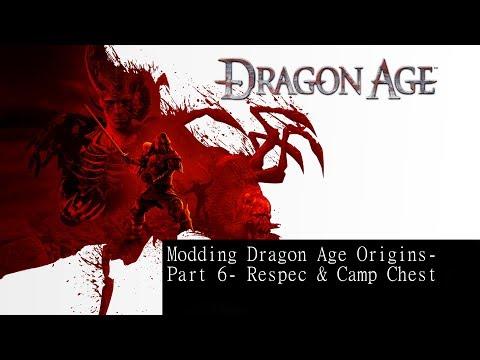 Modding Dragon Age Part 6- Respec & Camp Chest