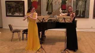 Joseph Bodin de Boismortier. Sonata №2 for Flute and Violin, Op.51