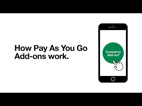 Pay As You Go Add-ons | How To Use Bundles | Support On Three