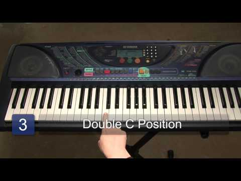 Piano Fingering & the Musical Alphabet for Basic Piano Chords : Piano Lessons