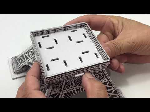 DIY Miniature Eiffel Paris Tower ~ 3D Puzzle Toy