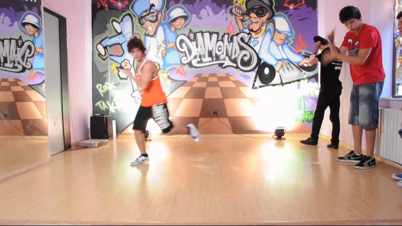 Diamonds Dance Club - cursuri de hip hop - YouTube