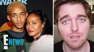 "Jada Pinkett-smith & Jaden Smith ""disgusted"" By Shane Dawson | E! News"