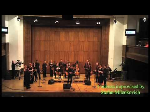 Rudolf Haken Concerto Mov2-Stefan Milenkovich, Camerata Academica, Belgrade
