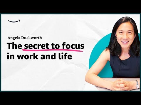 Angela Duckworth - The secret to focus in work and life - Insights for Entrepreneurs - Amazon
