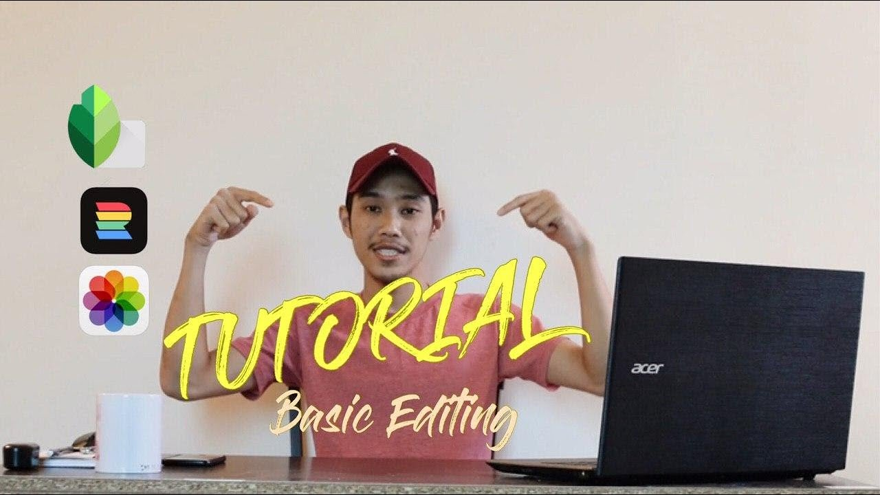 Cara Edit Gambar Instagram (Basic Editing....) - YouTube