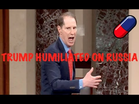 """""""TRUMP IS MESMERIZED BY PUTIN!!!"""" Ron Wyden HUMILIATES Trump for Failing to Protect Our Elections"""