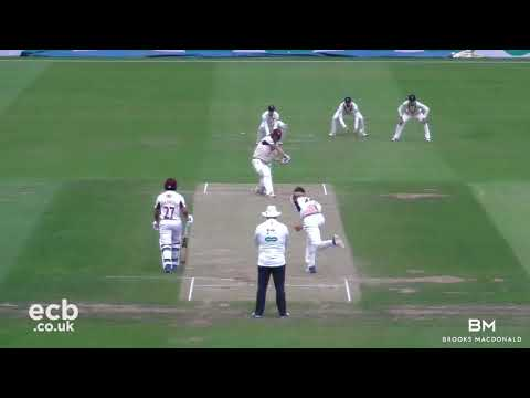 NORTHANTS V MIDDLESEX - DAY FOUR MATCH ACTION (22AUG2018)