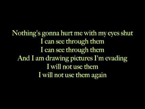 Years and Years - Eyes Shut(Live) LYRICS