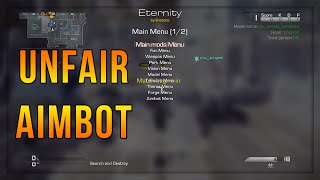 Call of Duty Ghosts Modded Lobby Reactions + Aimbot Trickshots!