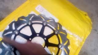 Обзор тормозных мото дисков из Китая. Ч.1.