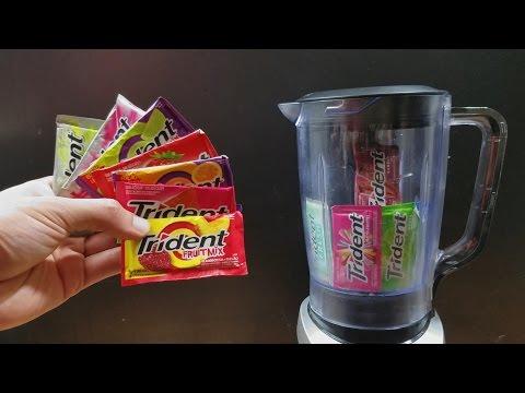 Misturei todos os sabores de Trident e provei! Ficou bom?