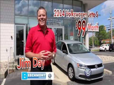 Beechmont VW Cincinnati $99month Lease 2014 Jetta MAY Deals