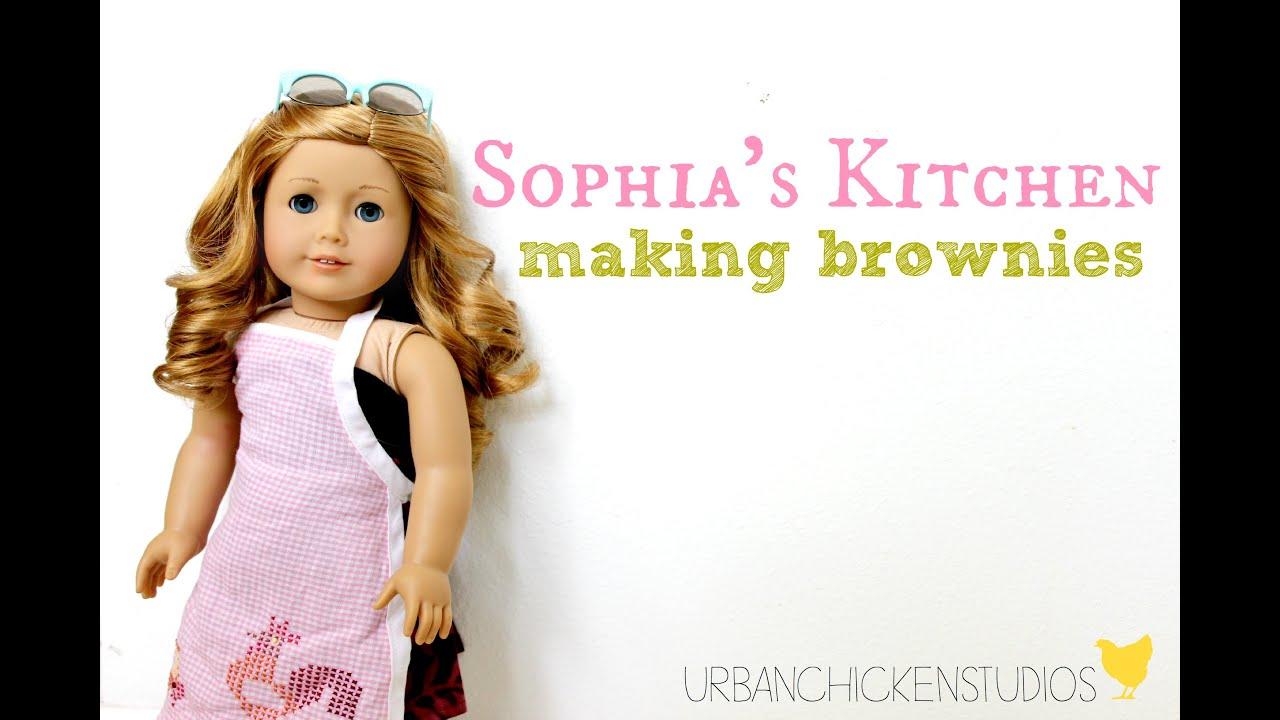 Sophia\'s Kitchen: Making Brownies - YouTube