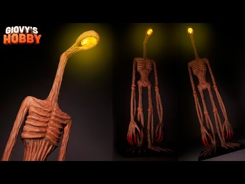 Headlight Sculpture made with LED light ➤ Trevor Henderson Creatures ★ Polymer Clay Tutorial
