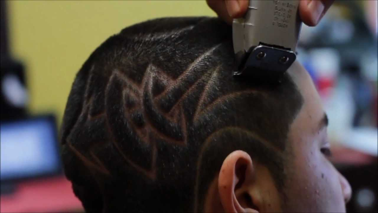 freestyle tribal hair design