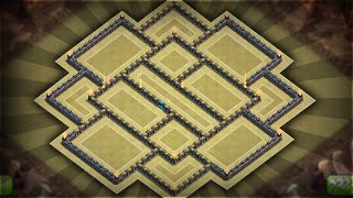 Clash Of Clans - Best Townhall 10 (th10) Anti-three Star Trophy/clan War Base!!!