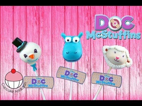 How To Make Doc Mcstuffins Cake Pops