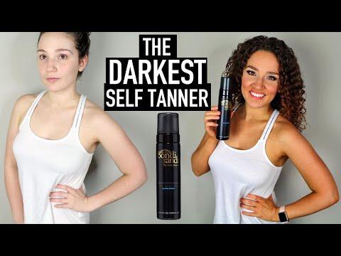Bondi Sands ULTRA DARK Foam Review - How To Apply Self Tanner