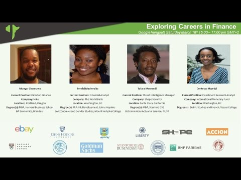 Emergination Africa: Exploring Careers in Finance