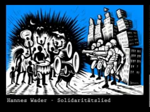Hannes Wader - Solidaritätslied - [politisches liedgut]
