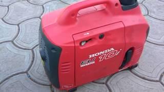 видео генератор инверторный honda