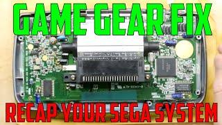 How to Recap aฑd repair your SEGA Game Gear