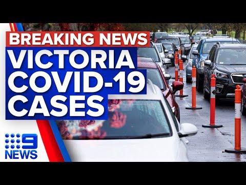 Six new COVID-19 cases in Victoria   Coronavirus   9 News Australia