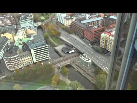 Hotel Tour: Radisson BLU Plaza Hotel, Oslo, Norway. On the top floors (33-37). 24 OCT 2015.