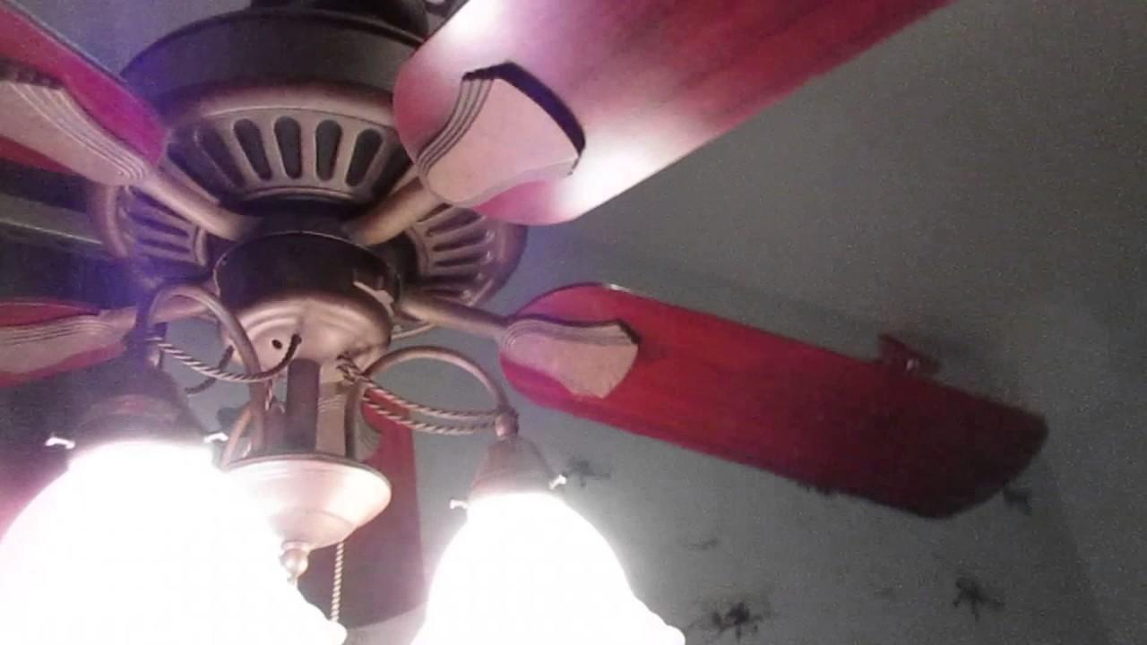 Hampton Bay Cameron Ii Plus Ceiling Fan Remake Youtube