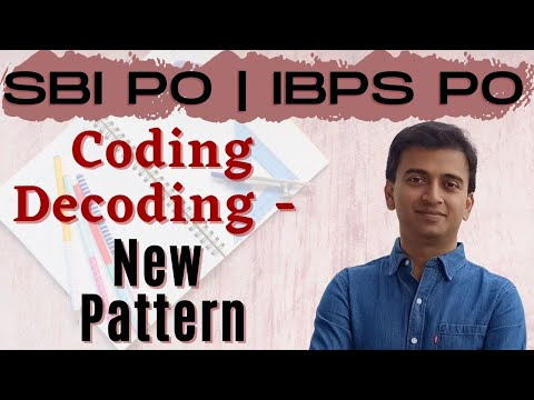 Coding Decoding: New Pattern | SBI PO 2017 Online Classes #DAY 18