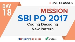 Coding Decoding: New Pattern | SBI PO 2017 Online Classes