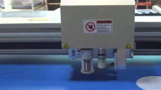 Aokecut@163.com Pvc Corrugated Coroplast Sample Maker Cutter Table Plotter Digital Machine