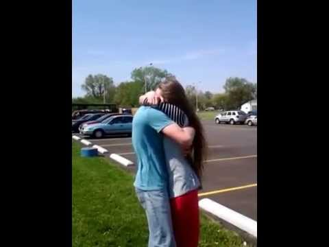 Brother in Navy surprises sister!