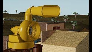 ROBLOX Tornado Siren #38: B&N Mobil Directo At Dave County. Alert & Attack, 1080p60