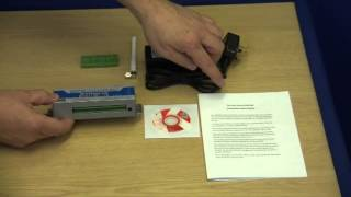 KP GSM Temperature Alarm (Out the Box Video) from Ultra Secure Direct