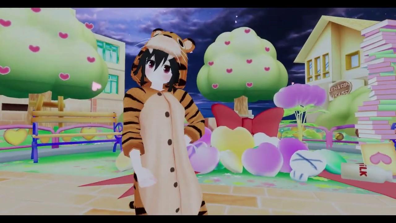 MMD Dance World - Booo! [VRChat] / Ukon Pajama Tiger