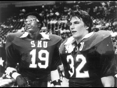 PART 1) ERIC DICKERSON, GREG JAMES talk SMU DAYS