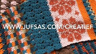 Haakpatroon 1 van Shawl Mix & Match handmade by juf Sas
