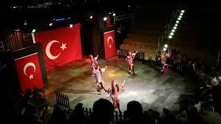 Турецкие танцы в Амфитеатре
