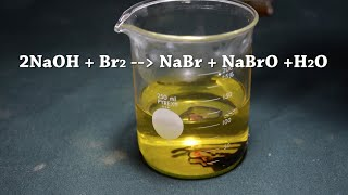 Synthesis of Sodium Hypobromite - Bromine Bleach