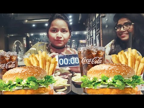 2x Burger Eating Challenge (INDIA) || Full Meal Challenge || Episode-4 thumbnail