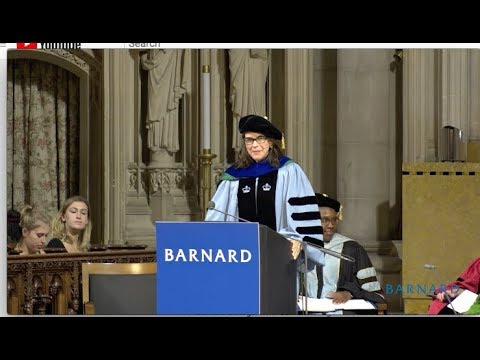 Barnard Convocation 2017