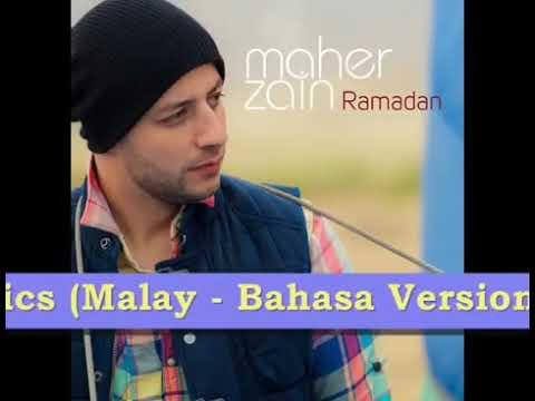 Maher Zain Ramadan (versi melayu) lirik