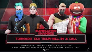 WWE 2K19 Tag Team Action Ninja - Naruto vs Fortnite Skins!!! Jeu insensé