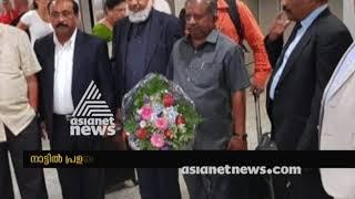 Flood in Kerala; K Raju's Germany visit creates new controversy