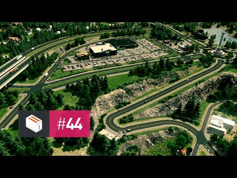 Let's Design Cities Skylines — EP 44 — More Parks, More Shopping