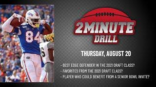 2021 NFL DRAFT CLASS FAVORITES | 2 Minute Drill: Thursday, August 20 | PFF