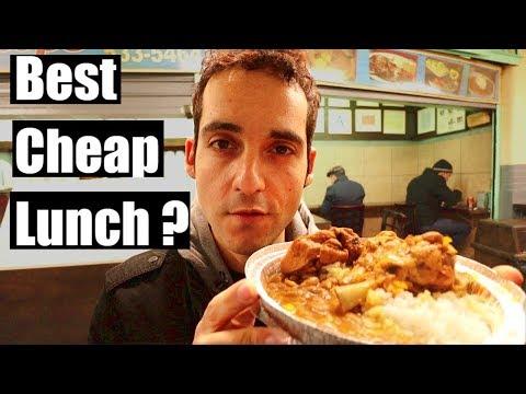 Living Cheap in NYC- $5 HIDDEN Lunch Spots in Midtown Manhattan !